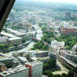 Берлин. Вид с телевизионной башни