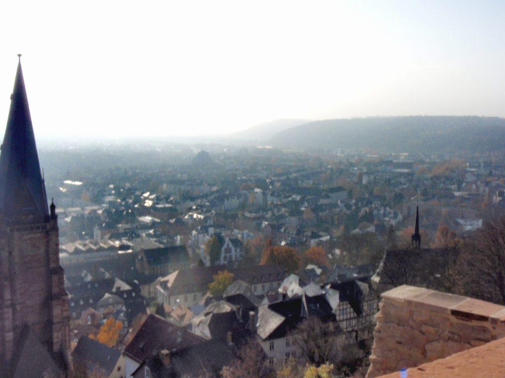 Марбург. Вид с замка
