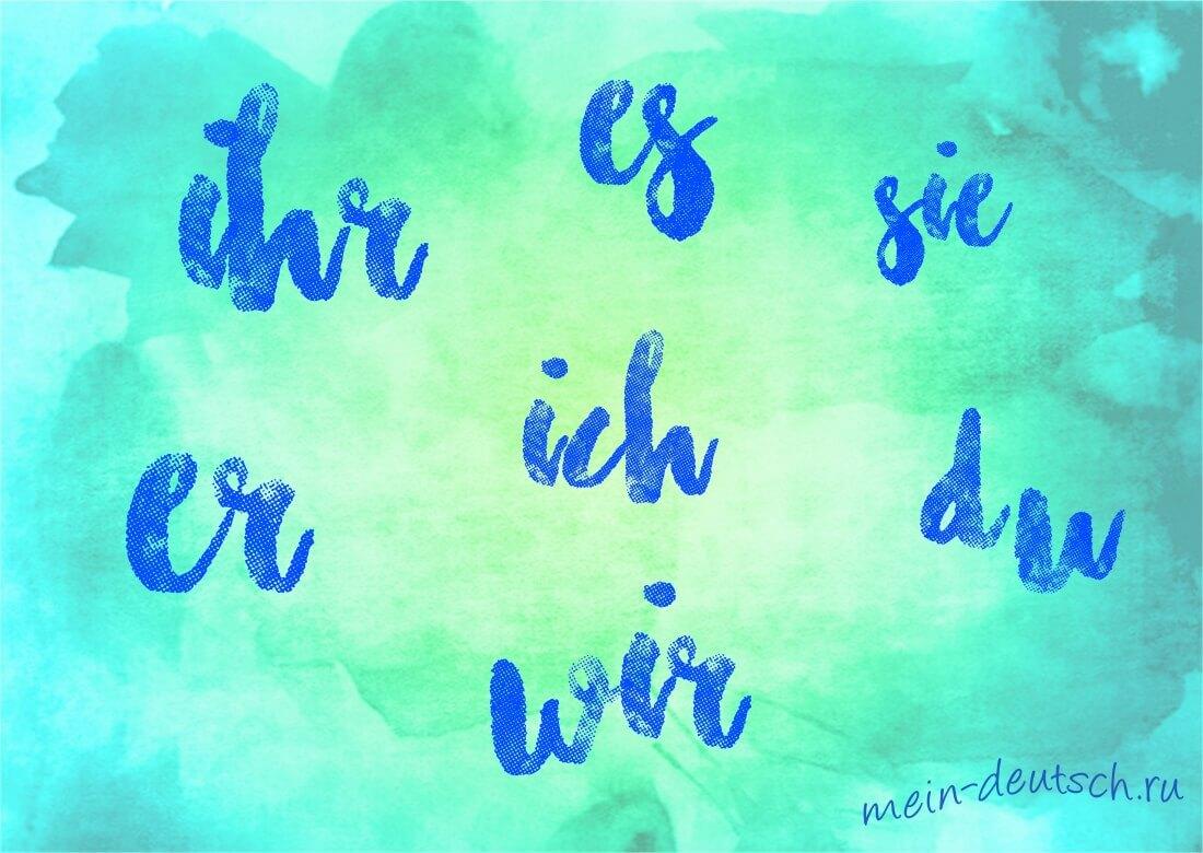 урок немецкого языка знакомство с