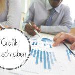 Как описать статистику и график на немецком