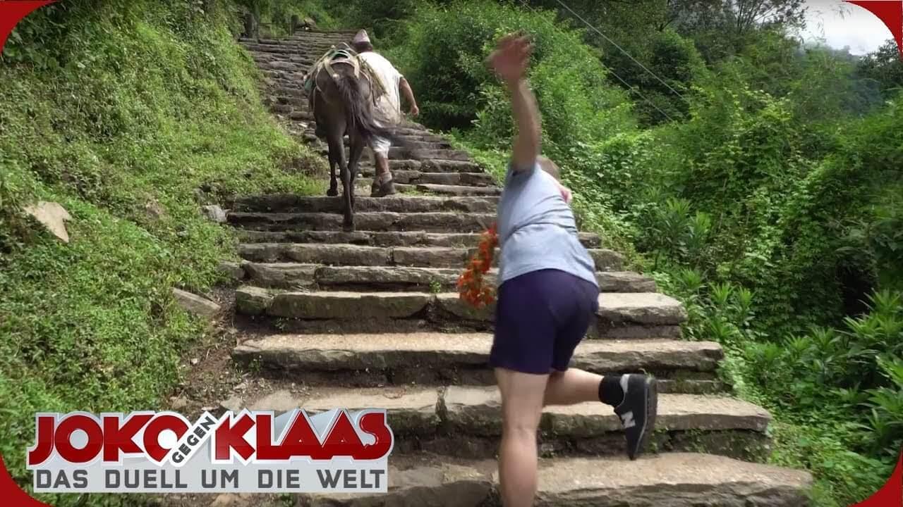 Немецкий с видео: Joko gegen Klaas in Nepal. Видео 9 мин.