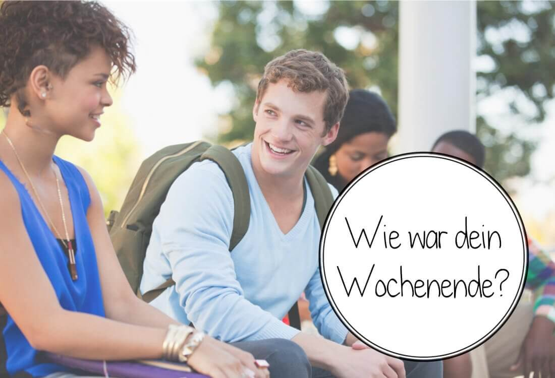 как рассказать по-немецки о выходных