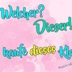 Указательные местоимения в немецком языке