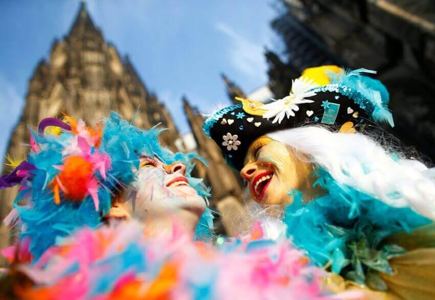 Карнавал в Германии — Es ist Fasching. Видео 4 мин.