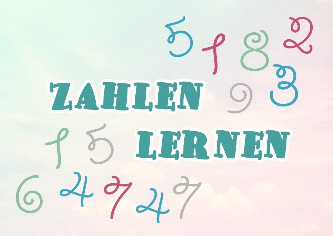 Как запомнить числа на немецком языке?