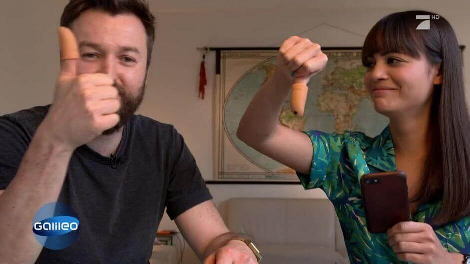 Немецкий с видео: немцы пробуют русские продукты. Репортаж 10 мин.