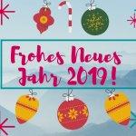 Новогодние поздравления на немецком языке
